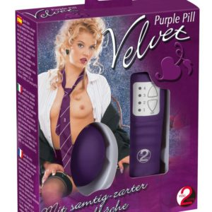 "Vibroei ""Velvet Purple Pill"""
