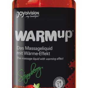 Warm-up Massageöl Strawberry