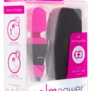 "Massagestab ""Palm Power Pocket"" mit flexiblen Hals"