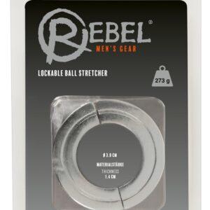 """Hodenstretcher """"Lockable Ball Stretcher"""" mit Inbusschlüssel"""