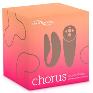"Paarvibrator ""Chorus"", mit Biofeedback-Fernbedienung Pink"