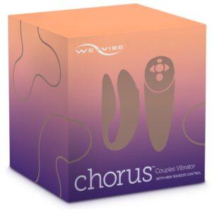 "Paarvibrator ""Chorus"", mit Biofeedback-Fernbedienung Lila"
